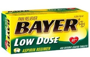 Bayer Low Dose Aspirin at Walgreens