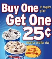 photograph about Printable Dairy Queen Coupons referred to as Dairy Queen: Invest in A person Blizzard Acquire A person For $0.25