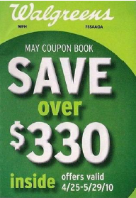 Walgreens May Instant Value Coupon Booklet