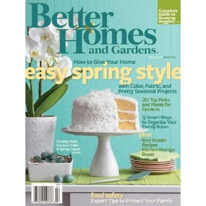 Better homes and gardens magazine 2 years for only 7 better homes and gardens