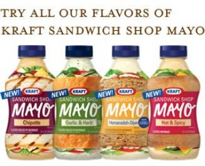 Free Sample Kraft Sandwich Shop Mayo