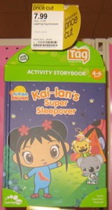 Target LeapFrog Tag Books As Low 149