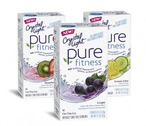 FREE Sample Crystal Light Pure Fitness
