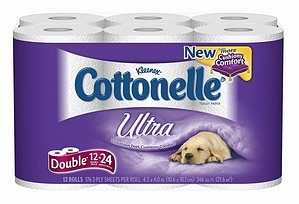 Cottonelle Ultra Toilet Paper + Fresh Wipes FREE Sample