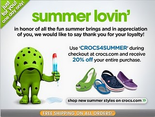 Crocs Summer Sale