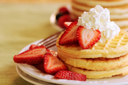 ... easy breakfast recipes like Buttermilk Waffles (page 13), Asparagus