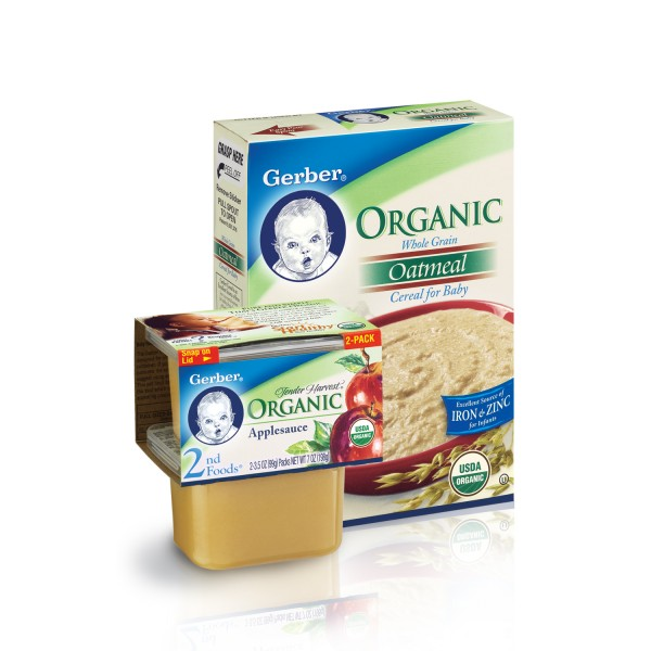 Download this Gerber Anic Baby Food picture