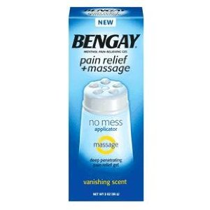 bengay pain relief and massage