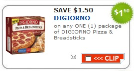 picture relating to Digiorno Pizza Coupons Printable titled Fresh $1.50 off DiGiorno Pizza Breadsticks Coupon - Bundle