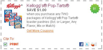 pop tarts coupons