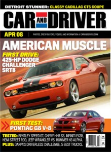 Car & Driver Magazine