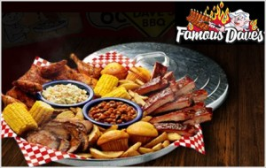 photograph about Famous Dave's Printable Coupons identify Popular Daves: Totally free Evening meal upon Your Birthday! - Bundle Looking for Mother