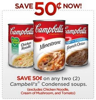 photograph regarding Campbell Soup Printable Coupon named Campbells Soup Printable Coupon Meijer Insanity