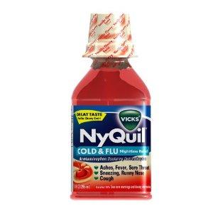 Walgreens: FREE NyQuil Vanilla Cherry Swirl