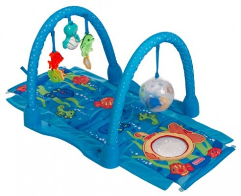 instructions for fisherprice kick n play bouncer