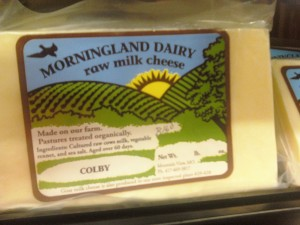 Consumer Recall: Morningland Raw Milk Cheese + More