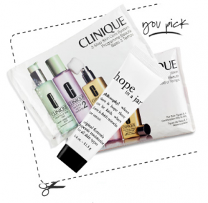 Sephora FREE Philosophy or Clinique Deluxe Sample