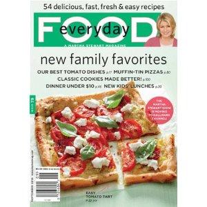 MARTHA STEWART EVERYDAY FOOD MAGAZINE RECIPES 7000 Recipes