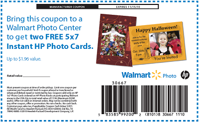 Coupon for walmart photo cards