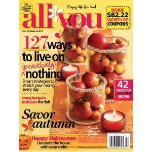 All You Magazine: $15.95/Year