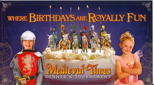 medieval times birthday Medieval Times: FREE Ticket for Your Birthday! medieval times birthday