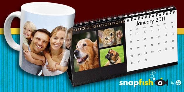 Snapfish: FREE Desk Calendar or Photo Mug