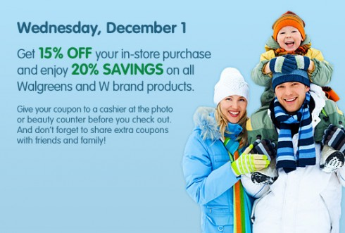 Walgreens Friends & Family Event