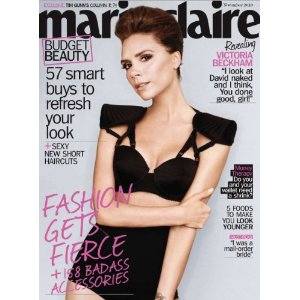 Marie Claire Magazine Subscription $3.73