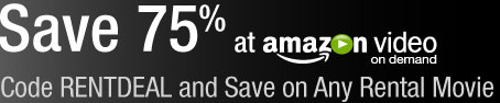 Amazon.com: 75% Off Video on Demand Rental Code