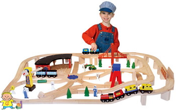 melissa & doug train frenzy