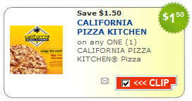 New $1.50 Off California Pizza Kitchen Pizza Printable
