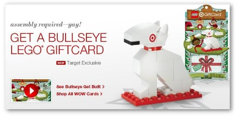 Target: FREE Lego Set with Gift Card Purchase