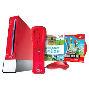 Limited Edition Red Wii Hardware Bundle