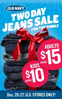 two-day jean sale