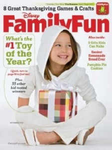 Family Fun Magazine Subscription $2.99