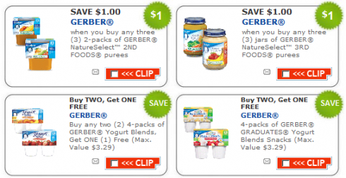 image relating to Gerber Printable Coupons titled Fresh Gerber Child Meals Printable Coupon codes - Offer Trying to get Mother