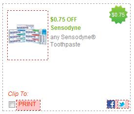 Sensodyne Pronamel Travel Size Toothpaste Free