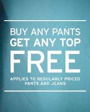 FREE shirt at GAP