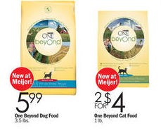 Purina One Beyond Meijer sale