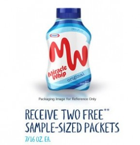 miracle whip free sample