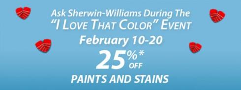 sherwin-williams coupon