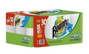 bounty huge roll papertowels