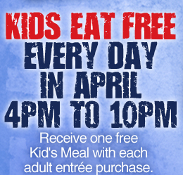 IHOP kids eat free