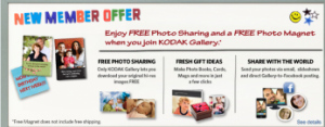 free photo magnet from kodak