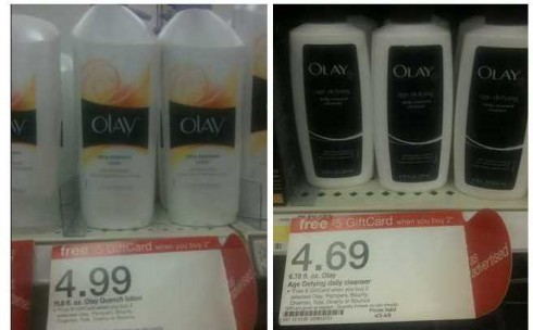 free olay face wash