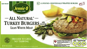 Consumer Recalls: Turkey Burgers + More