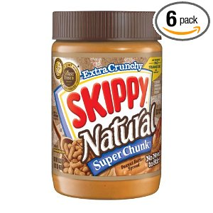 skippy natural peanut butter