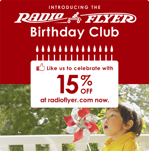 radio flyer birthday club