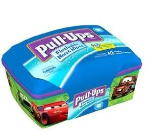 Huggies Pull-Ups Flushable Moist Wipes FREE Sample - Deal