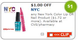 NYC lip or nail coupon